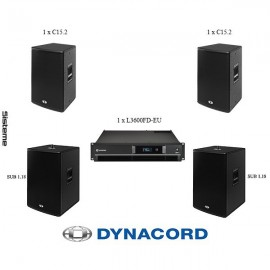 Sistem Dynacord C15.2 x 2
