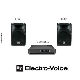 Sistem ElectroVoice ZX4 2×1