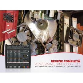 Revizie completa PM 1000 Inlocuire potentiometre + inlocuirea ventilatoarelor + curatare gratuita mixer
