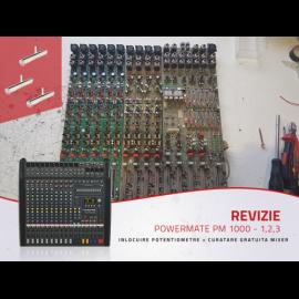 Inlocuire potentiometre +curatare gratuita mixer Powermate 1000